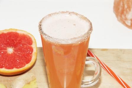 grapefruit close up