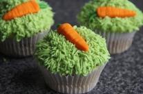 Carrot Cake Easter Cupcake