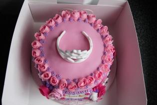 Princess Themed Birthday Cak