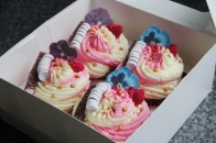 Customised Birthday Cupcakes. Gifts For Her.